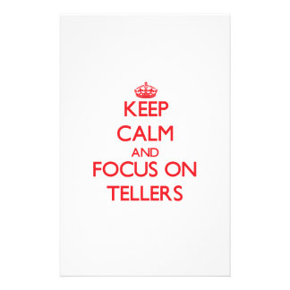 Keep Calm and focus on Tellers Stationery
