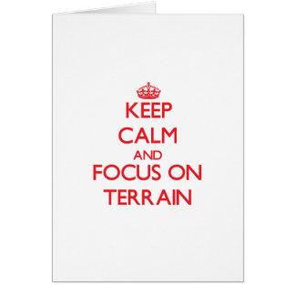 Keep Calm and focus on Terrain Cards