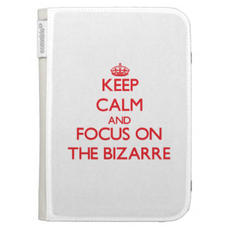 Keep Calm and focus on The Bizarre Kindle Covers