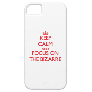 Keep Calm and focus on The Bizarre iPhone 5 Covers