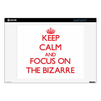 """Keep Calm and focus on The Bizarre Skins For 14"""" Laptops"""