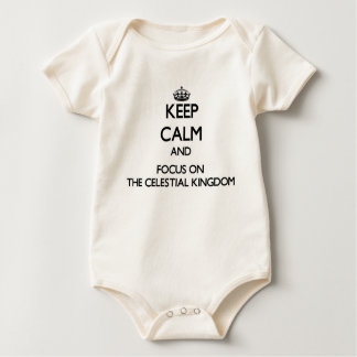 Keep Calm and focus on The Celestial Kingdom Romper