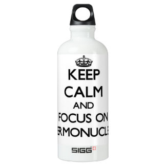 Keep Calm and focus on Thermonuclear SIGG Traveler 0.6L Water Bottle
