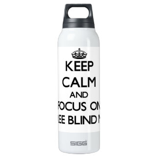 Keep Calm and focus on Three Blind Mice SIGG Thermo 0.5L Insulated Bottle