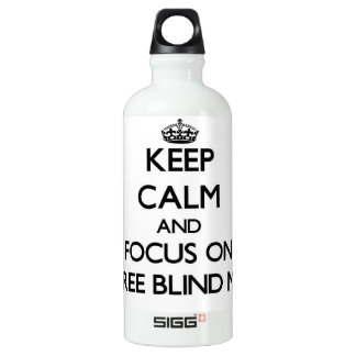 Keep Calm and focus on Three Blind Mice SIGG Traveler 0.6L Water Bottle