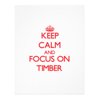 Keep Calm and focus on Timber Flyer