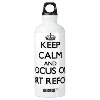 Keep Calm and focus on Tort Reform SIGG Traveler 0.6L Water Bottle