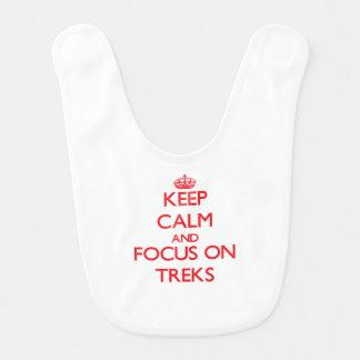 Keep Calm and focus on Treks Bib
