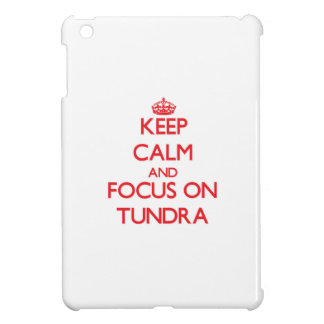 Keep Calm and focus on Tundra Cover For The iPad Mini