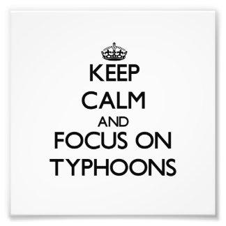 Keep Calm and focus on Typhoons Photo