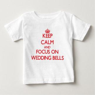 Keep Calm and focus on Wedding Bells Tee Shirts