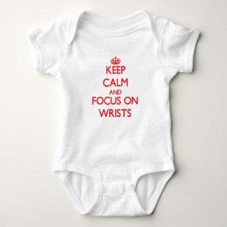 Keep Calm and focus on Wrists T-shirts