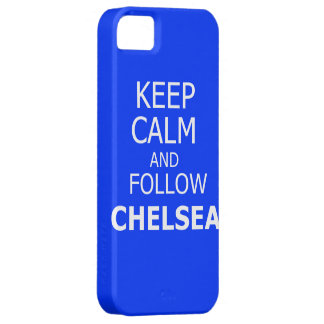 Keep calm and follow Chelsea iPhone 5 Case