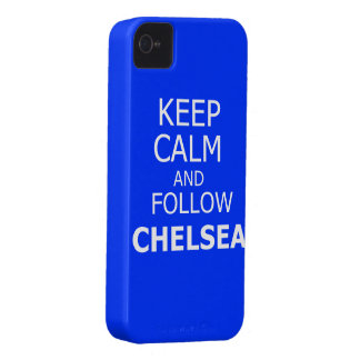 Keep calm and follow Chelsea iPhone 4 Cover