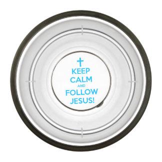 Keep Calm And Follow Jesus Bowl