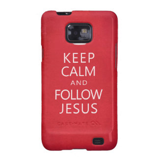 Keep Calm and Follow Jesus Samsung Galaxy SII Covers