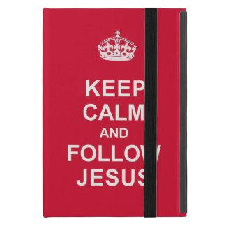 Keep Calm and Follow Jesus iPad Mini Case