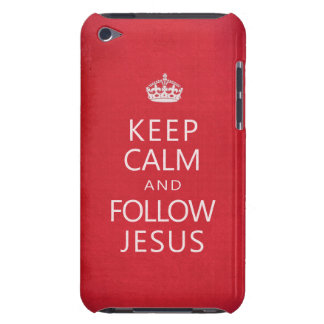 Keep Calm and Follow Jesus iPod Case-Mate Case