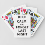Keep Calm and Forget Last Night Card Deck