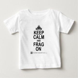 Keep Calm and FRAG ON Baby T-Shirt