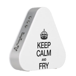 KEEP CALM AND FRY SPEAKER