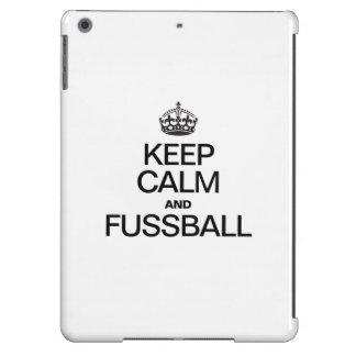 KEEP CALM AND FUSSBALL COVER FOR iPad AIR