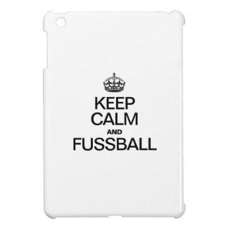 KEEP CALM AND FUSSBALL COVER FOR THE iPad MINI
