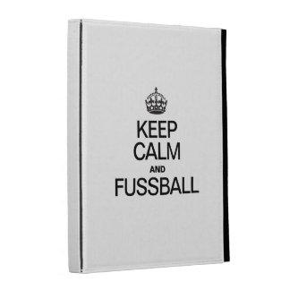 KEEP CALM AND FUSSBALL iPad FOLIO COVER