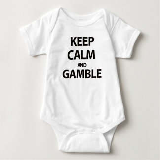 Keep Calm and Gamble Infant Creeper