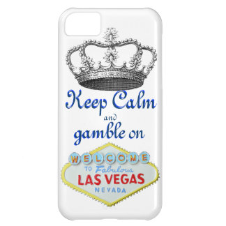 Keep Calm and Gamble On Cover For iPhone 5C