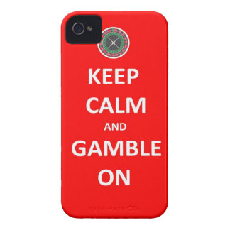 keep calm and gamble on phone case