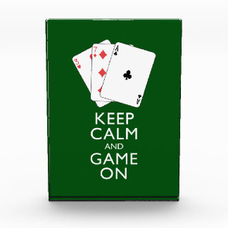 KEEP CALM AND GAME ON - Card Games Award