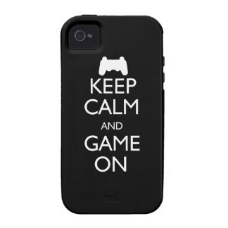 Keep Calm and Game On iPhone 4/4S Cover