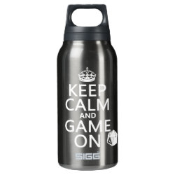 SIGG Thermo Bottle (0.5L) with Keep Calm and Game On design