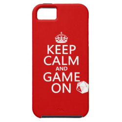 Keep Calm and Game On Case-Mate Vibe iPhone 5 Case