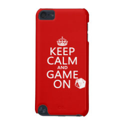 Keep Calm and Game On Case-Mate Barely There 5th Generation iPod Touch Case
