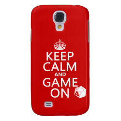 Case-Mate Barely There Samsung Galaxy S4 Case with Keep Calm and Game On design
