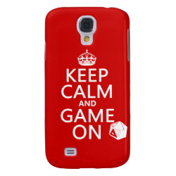 Keep Calm and Game On Case-Mate Barely There Samsung Galaxy S4 Case