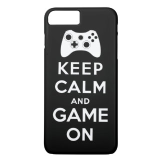 Keep calm and game on iPhone 7 plus case