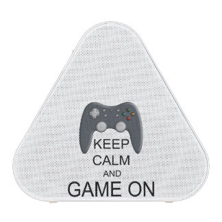 Keep Calm And Game ON Speaker