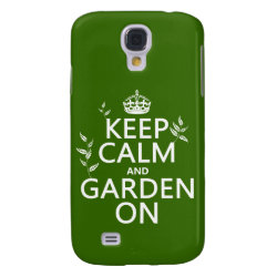 Case-Mate Barely There Samsung Galaxy S4 Case with Keep Calm and Garden On design