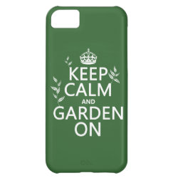 Case-Mate Barely There iPhone 5C Case with Keep Calm and Garden On design