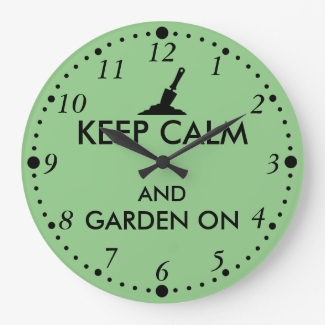 Keep Calm and Garden On Gardening Trowel Custom