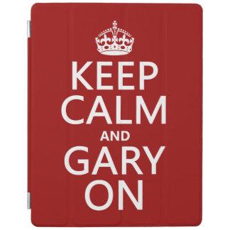Keep Calm and Gary On iPad Cover