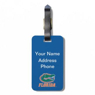 Keep Calm and Gator On - Blue luggage tags