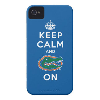 Keep Calm and Gator On iPhone 4 Case-Mate Case
