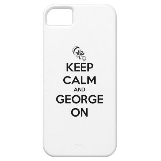 Keep Calm and George on iPhone SE/5/5s Case