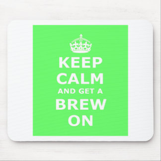Keep Calm and Get a Brew On, Mouse Mats