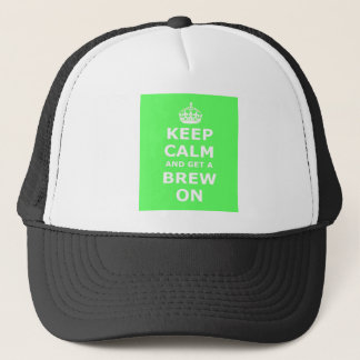 Keep Calm and Get a Brew On, Trucker Hat