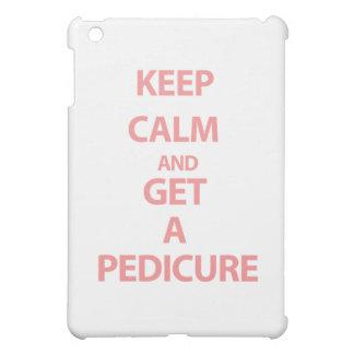 Keep Calm and Get A Pedicure iPad Mini Case